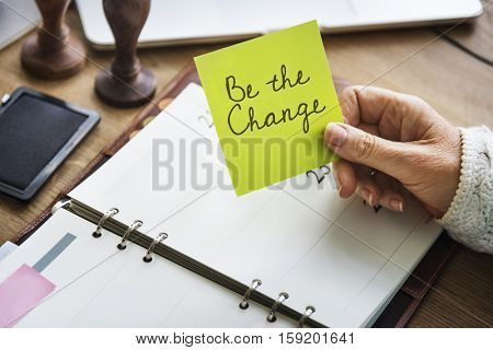 Be Brave Encouragement Time to Act Motivation Aspirations Concept