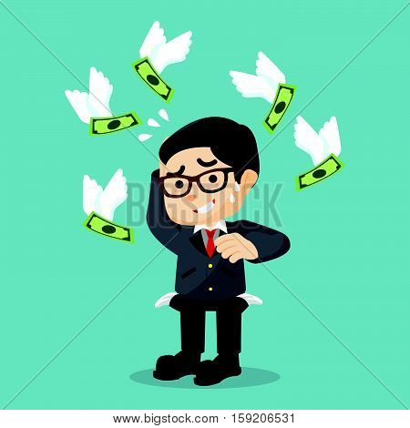 Boss don't have any money illustration design
