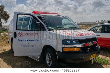 Israeli Ambulance, Called
