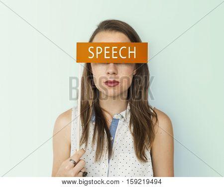 Speech Word Communication Talk Concept