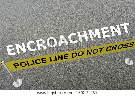 Encroachment - Criminal Concept