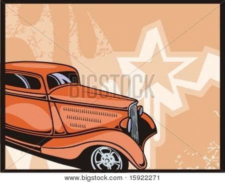 Hot Rod Background Series.