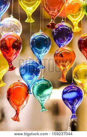 Famous Murano Glass Venice Italian City