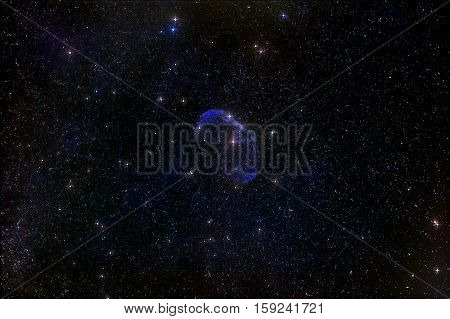 An astrophotographic view of the NGC6888 Crescent Nebula. Nov 2016
