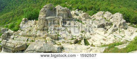 Perperikon - Temple Of Of Dionysius In The Rhodope Mountains