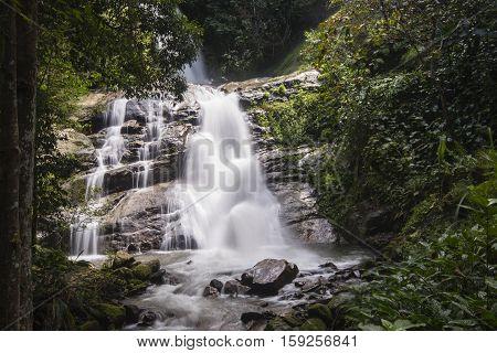 Huai sai lueang waterfall in Doi inthanon national park, Thailand