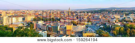 Cluj Napoka Panorama, Romania