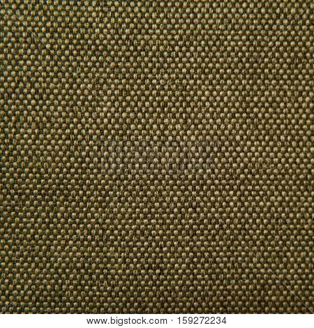 fabric texture - green gobelin for background