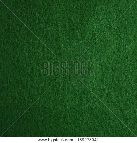 Green felt texture for background or for pool table.