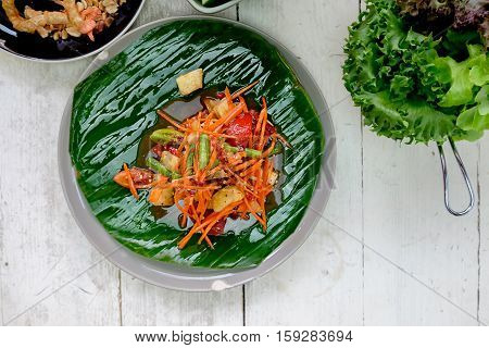 Thai food - Papaya salad - Som Tum