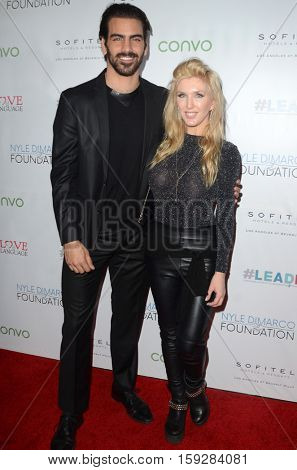 LOS ANGELES - NOV 30:  Nyle DiMarco, Erin Gavin at the Nyle DiMarco Foundation Love & Language Kickoff Campaign 2016 at Sofitel Hotel on November 30, 2016 in Beverly Hills, CA