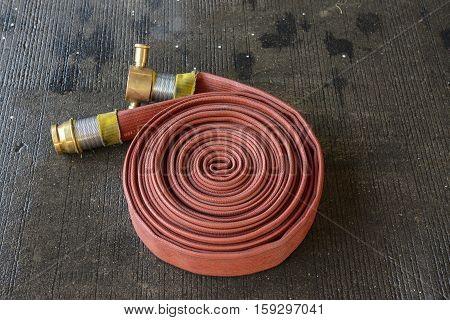 Fire Hose On The Rough Ground