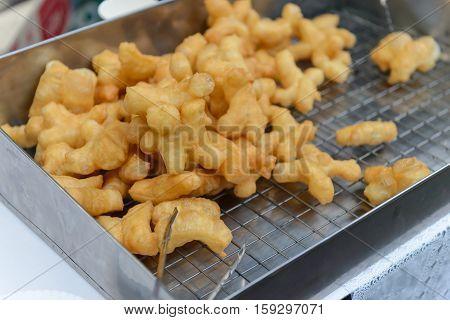 Deep-fried Doughstick Breakfast