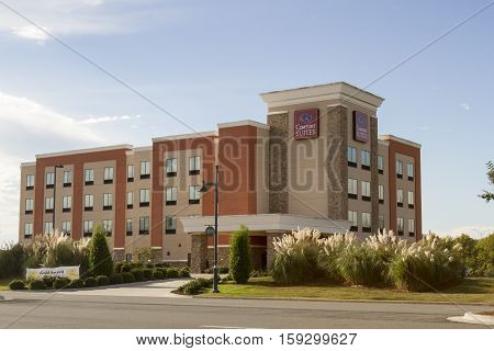 Comfort Suites Brand Chain Hotel