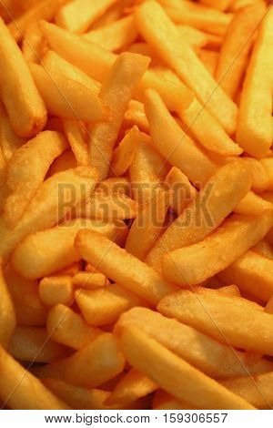 French Fries, Potato Chips Close Up
