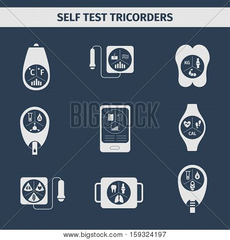 Medical testing health system. Medical tricorders. Medical diagnosis.