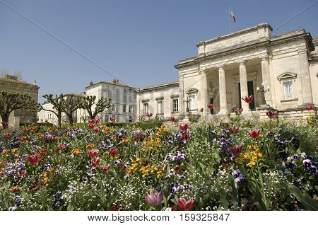 Palace Of Justice Saintes, France, Charente-maritime