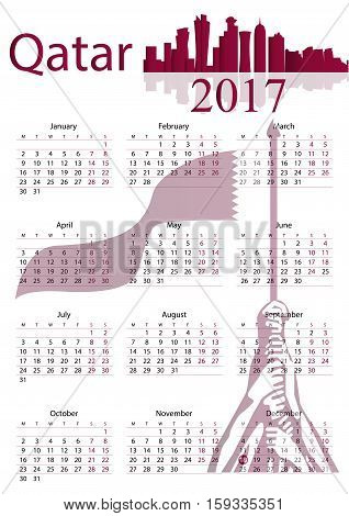 Calender Year 2017 especially on the occasion of National Day of Qatar
