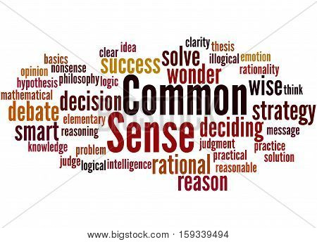 Common Sense, Word Cloud Concept 4