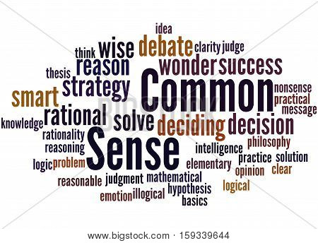 Common Sense, Word Cloud Concept 5