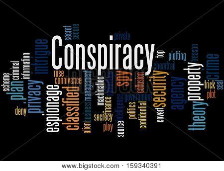 Conspiracy, Word Cloud Concept 7
