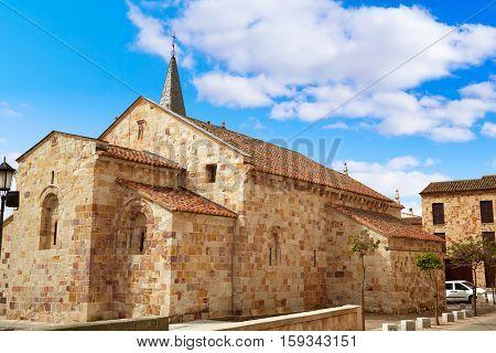 Zamora San Cipriano church in Spain by Via de la Plata way to Santiago exterior image from public ground