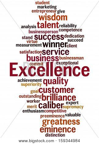 Excellence, Word Cloud Concept 7