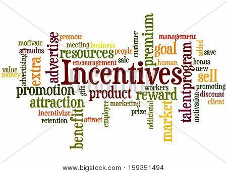 Incentives, Word Cloud Concept 5