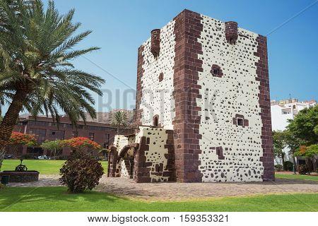 Ancient fort torre del conde in San Sebastian de la Gomera Canary island Spain.
