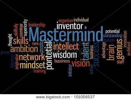 Mastermind, Word Cloud Concept 7