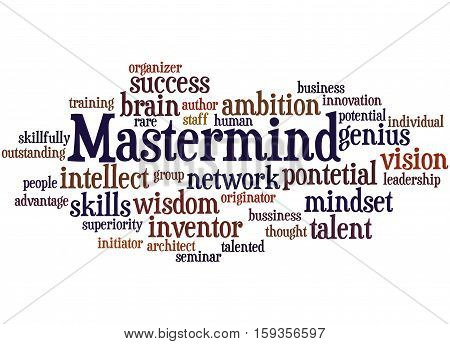 Mastermind, Word Cloud Concept 8