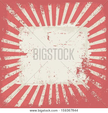 grunge background with copy space - vector illustration
