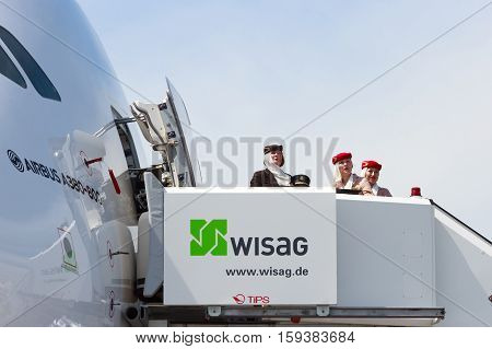 A380 Flight Attendants
