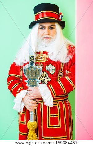 Senior Man Beefeater Yeomen Warder