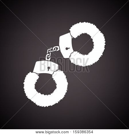 Sex Handcuffs With Fur Icon