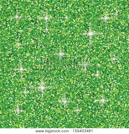 Shiny iridescent glitter background in vector format.