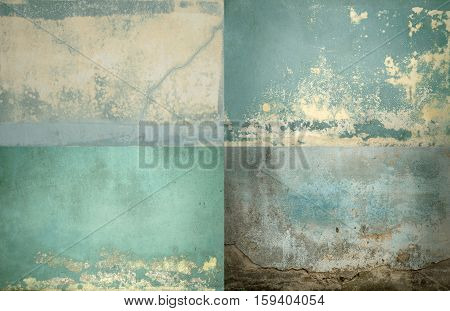 Grunge Concrete Wall Texture Pattern use for background