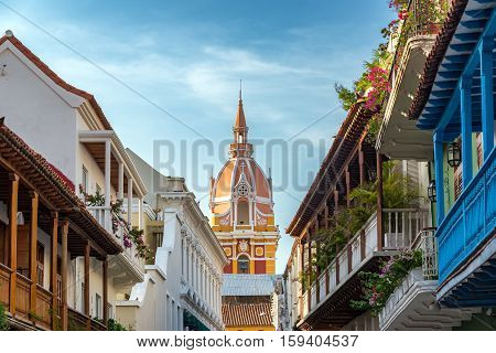 Colorful Historic Cartagena
