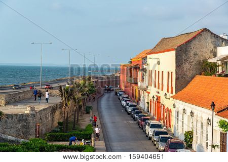 View Of Historic Cartagena, Colombia