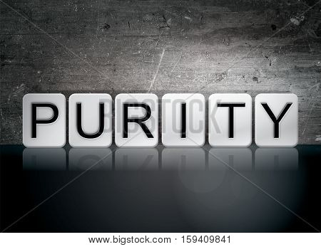 Purity Tiled Letters Concept And Theme