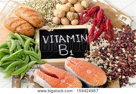 Foods Highest In Vitamin B1 (thiamin)