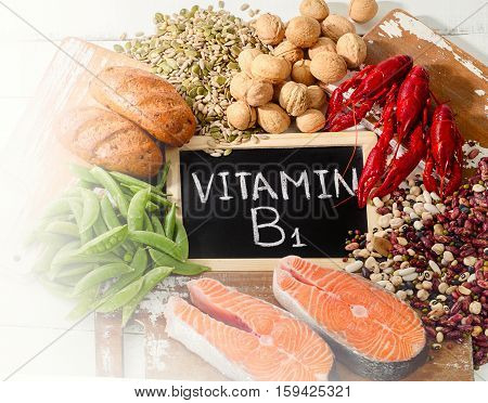 Foods Highest In Vitamin B1 (thiamin).