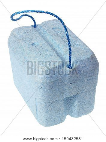 Cooler Box on an Isolated White Background