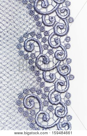 Decorative Silver Lace