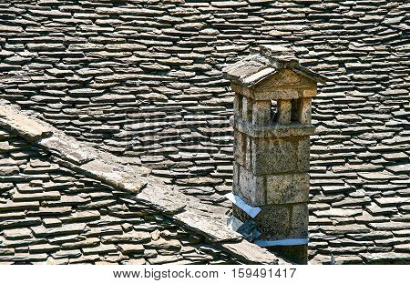 This is a typical architecture (of homes made out of Stone ) Epirus area. Stone was used as an elementary material in buildings due to that there was plenty of it in Epirus.