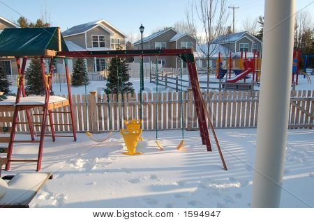 Backyard Winter Wonder Land