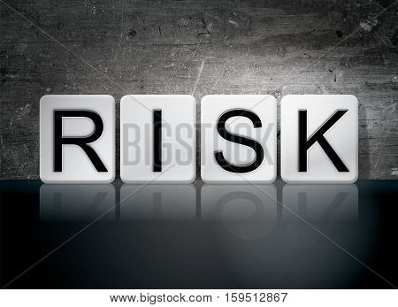 Risk Tiled Letters Concept And Theme
