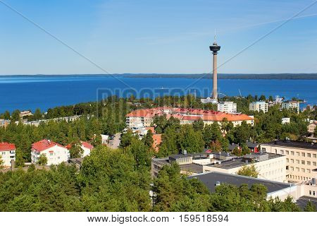 View Of Tampere From Pyynikki Tower