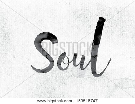 Soul Concept Painted In Ink