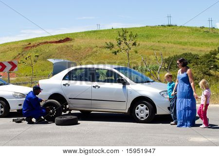 Roadside assistance -